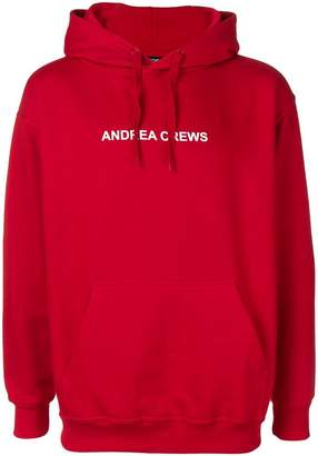 Andrea Crews logo hoodie