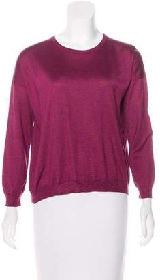Hermes Silk Lightweight Sweater