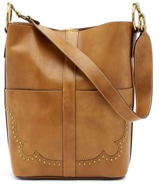 Frye Ilana Western Leather Bucket Bag
