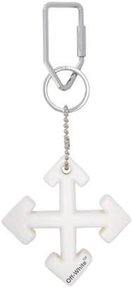 Off-White White Arrow Keyring