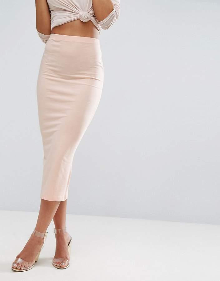 asos longer length midi pencil skirt shopstyle