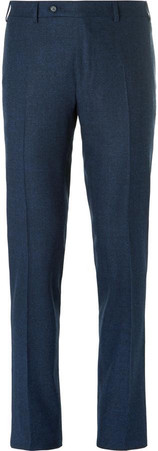 CanaliCanali Blue Venezia Stretch-Wool Suit Trousers