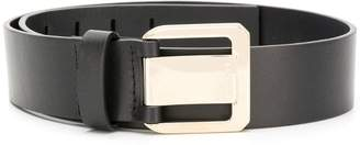 Lanvin gold buckle belt