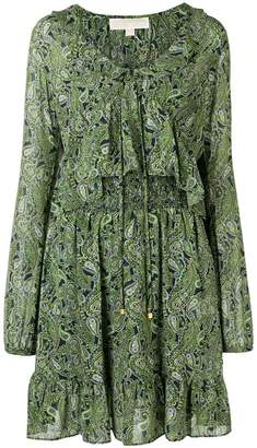 MICHAEL Michael Kors printed flared dress