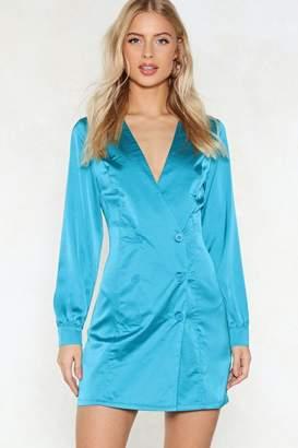 Nasty Gal Le Freak Blazer Dress