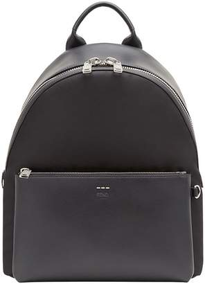Fendi textured shoulder straps backpack