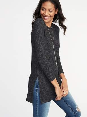 Old Navy Relaxed Plush-Knit Tunic Tee for Women