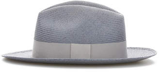 Cubavera Grey Fedora with Light Grey Band
