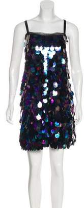 Milly Sleeveless Sequined Dress