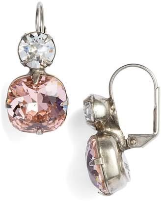 Sorrelli On the Edge Crystal Drop Earrings