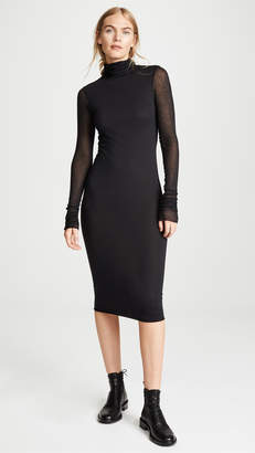 Rick Owens Lilies Turtleneck Dress