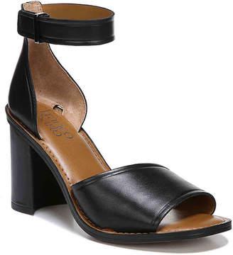 59eccacfe9f6f Franco Sarto Black Leather Sole Women s Sandals - ShopStyle