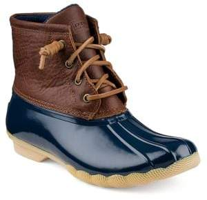 Sperry Saltwater Leather Booties