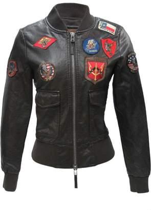Top Gun Vegan Leather Jacket
