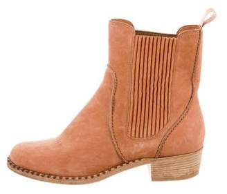 Marc Jacobs Suede Chelsea Boots