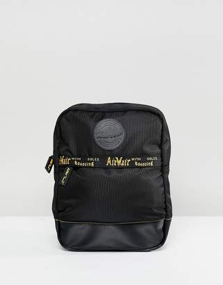 Dr. Martens Small Black Logo Taping Backpack