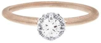 Megan Thorne Two Tone Diamond Ribbon Crown Ring