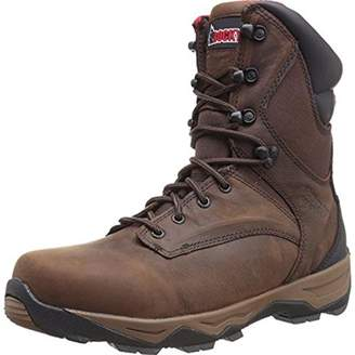 Rocky Men's 8 Inch Retraction Steel Toe Work Boot