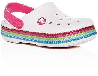 Crocs Girls' Classic Clogs - Walker, Toddler, Little Kid