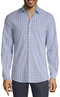 AXIST Axist Long Sleeve Plaid Button-Front Shirt