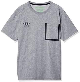 Umbro (アンブロ) - (アンブロ) UMBRO (アンブロ)umbro サッカー 綿Tシャツ ULULJA62 [ボーイズ] ULULJA62 MGRY Mグレイ O