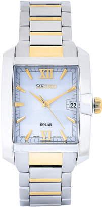 Seiko SNE463 Two-Tone Watch