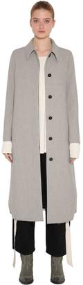 MM6 MAISON MARGIELA Midi Length Check Bonded Coat