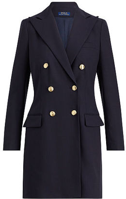 Polo Ralph Lauren Double-Breasted Wool Blazer $698 thestylecure.com