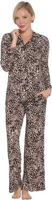 Soma Intimates Soma Cool Nights Notch Collar Pajama Set