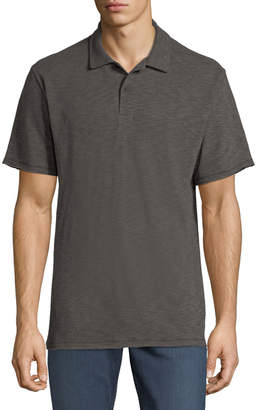 Rag & Bone Men's Owen Stripe Linen/Cotton Polo Shirt