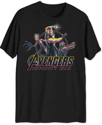 Hybrid Thor Avengers Men's Big & Tall Graphic T-Shirt