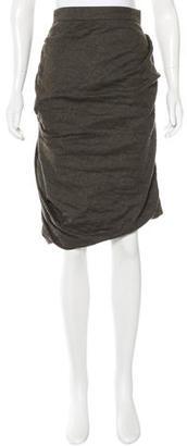 AllSaints Wool Pencil Skirt $80 thestylecure.com