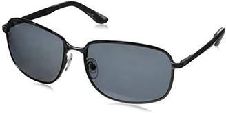 Hang Ten Gold HT HTG1013 C1 Polarized Rectangular Sunglasses