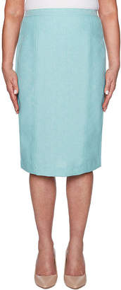 Alfred Dunner Versailles Womens Pencil Skirt