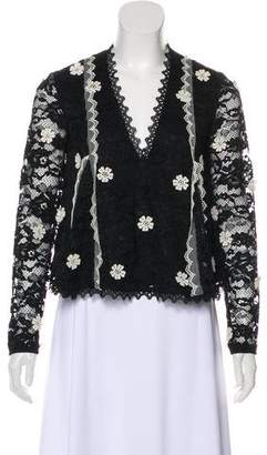 Alexis Lace Long Sleeve Blouse w/ Tags