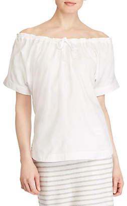 Lauren Ralph Lauren Bieling Off-The-Shoulder Top