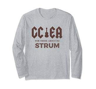GCEA For Those About To Strum - Uke Rocker Long Sleeve Shirt