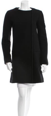Chloé Chloé Wool Knee-Length Coat