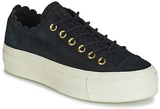 310554479038 Converse CHUCK TAYLOR ALL STAR PLATFORM FRILLY THRILLS SUEDE OX