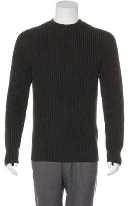 Tom Ford Wool Crew Neck Sweater olive Wool Crew Neck Sweater