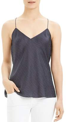 Theory Striped Silk Camisole Top
