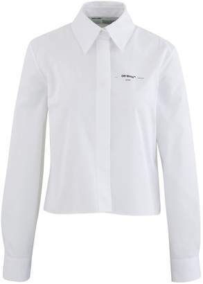 Off-White Off White Cropped Flowers shirt
