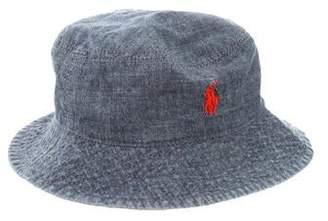 269842e7f3aad Ralph Lauren Boys  Reversible Bucket Hat