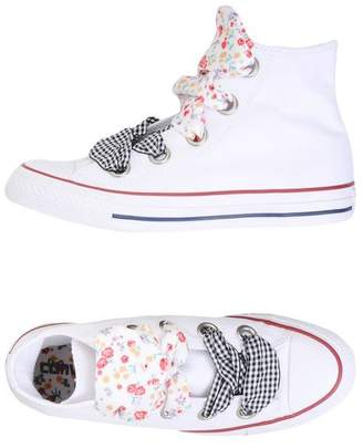 CTAS HI BIG EYELET FLOWERS DETAILS - FOOTWEAR - High-tops & sneakers Converse