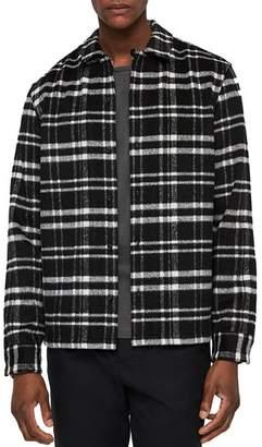 AllSaints Racine Checked Slim Fit Button-Down Shirt