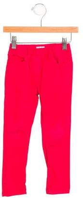 Il Gufo Girls' Straight-Leg Mid-Rise Pants
