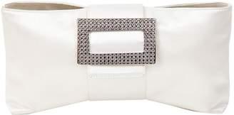 Roger Vivier Silk clutch bag
