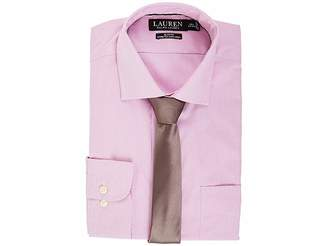 Lauren Ralph Lauren Non Iron Poplin Stretch Slim Fit Spread Collar Derss Shirt Men's Clothing