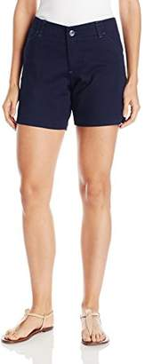 Lee Women's Plus Size Midrise Fit Essential Chino Short