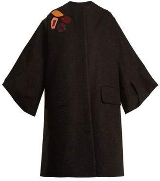 Roksanda Rimini origami-sleeved embellished coat